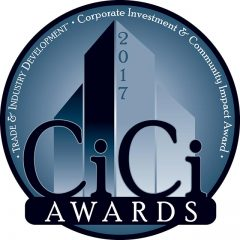 Corporate logo for the CiCi Awards