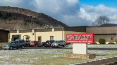 Exterior photo of the Embassy manufacturing facility